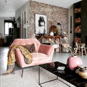Creative Bohemian Home Decor Design (28)