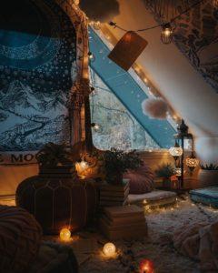 Creative Bohemian Home Decor Design (33)