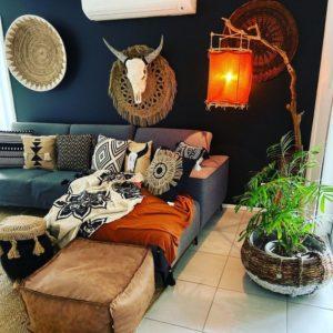 Elegant Bohemian Home Interior Decor Design (19)