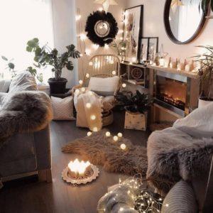 Elegant Bohemian Home Interior Decor Design (2)
