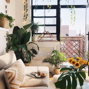 Elegant Bohemian Home Interior Decor Design (23)