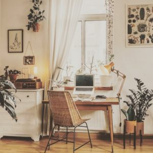 Elegant Bohemian Home Interior Decor Design (26)