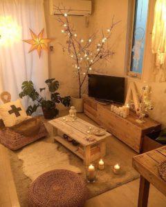 Elegant Bohemian Home Interior Decor Design (3)