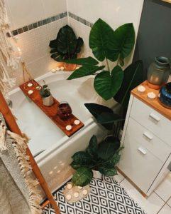 Elegant Bohemian Home Interior Decor Design (31)