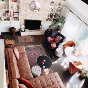 Elegant Bohemian Home Interior Decor Design (36)