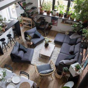 Elegant Bohemian Home Interior Decor Design (40)