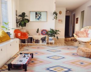 Elegant Bohemian Home Interior Decor Design (45)