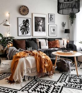 Elegant Bohemian Home Interior Decor Design (7)
