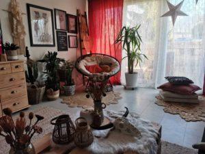 Elegant Bohemian Home Interior Decor Design (9)