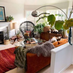 Fantastic Bohemian Interior Decor Design (50)