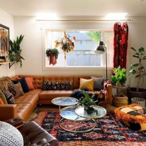 Fantastic Bohemian Interior Decor Design (52)