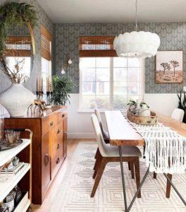 Attractive Bohemian Home Interior Design (22)
