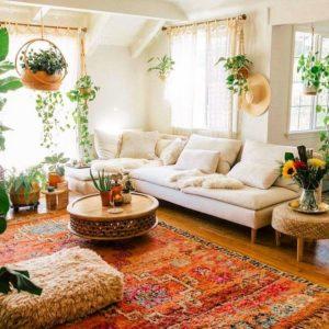 Attractive Bohemian Home Interior Design (29)