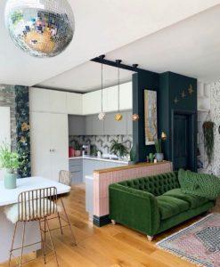 Attractive Bohemian Home Interior Design (36)