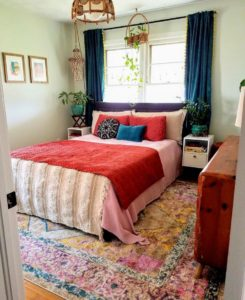 Enchanting Bohemian Bedroom Decor (21)