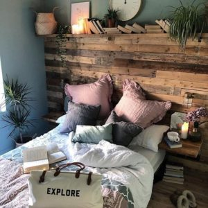 Enchanting Bohemian Bedroom Decor (22)