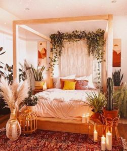 Enchanting Bohemian Bedroom Decor (28)