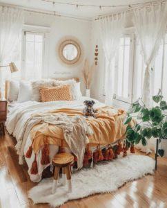 Enchanting Bohemian Bedroom Decor (3)