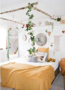 Enchanting Bohemian Bedroom Decor (34)